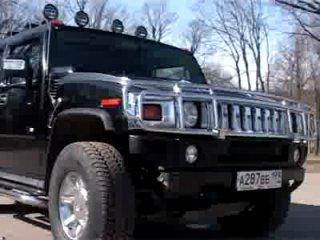Обзор автомобиля Hummer H2